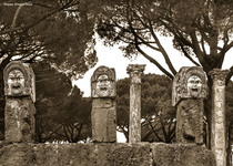 Tongues turned to Stone (Ostia Antica, Italy)